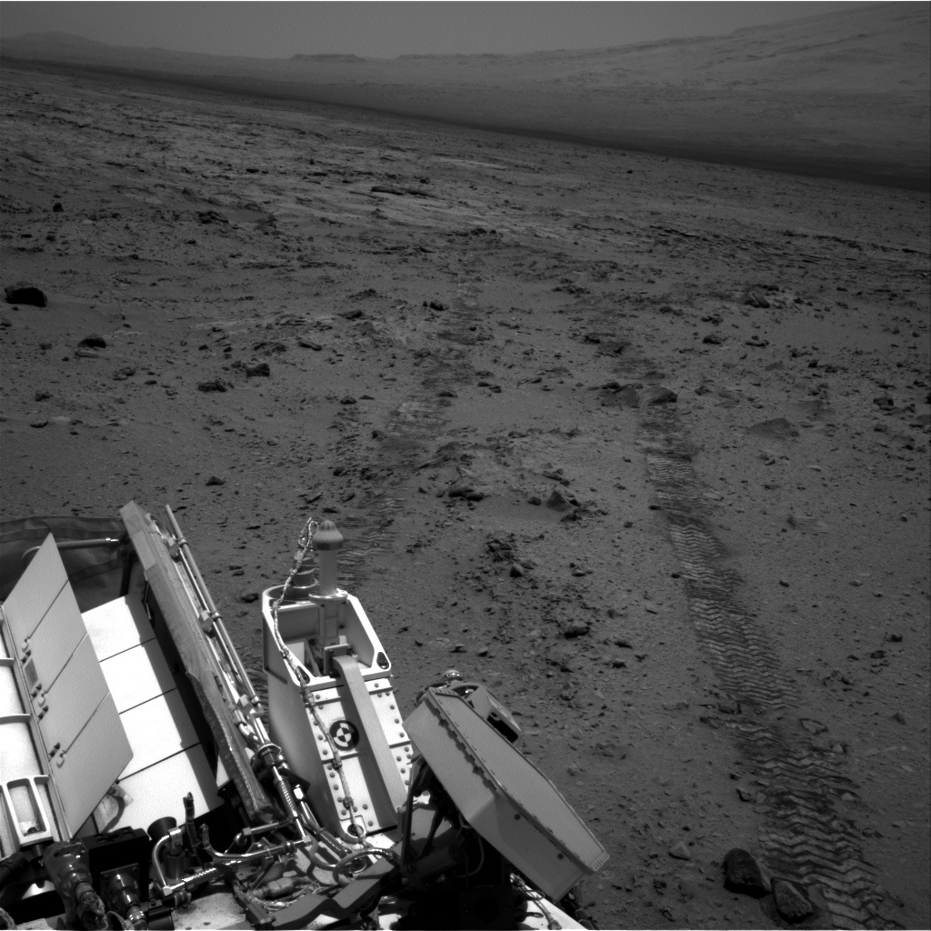 NASA's Mars rover Curiosity acquired this image using its Right Navigation Cameras (Navcams) on Sol 329