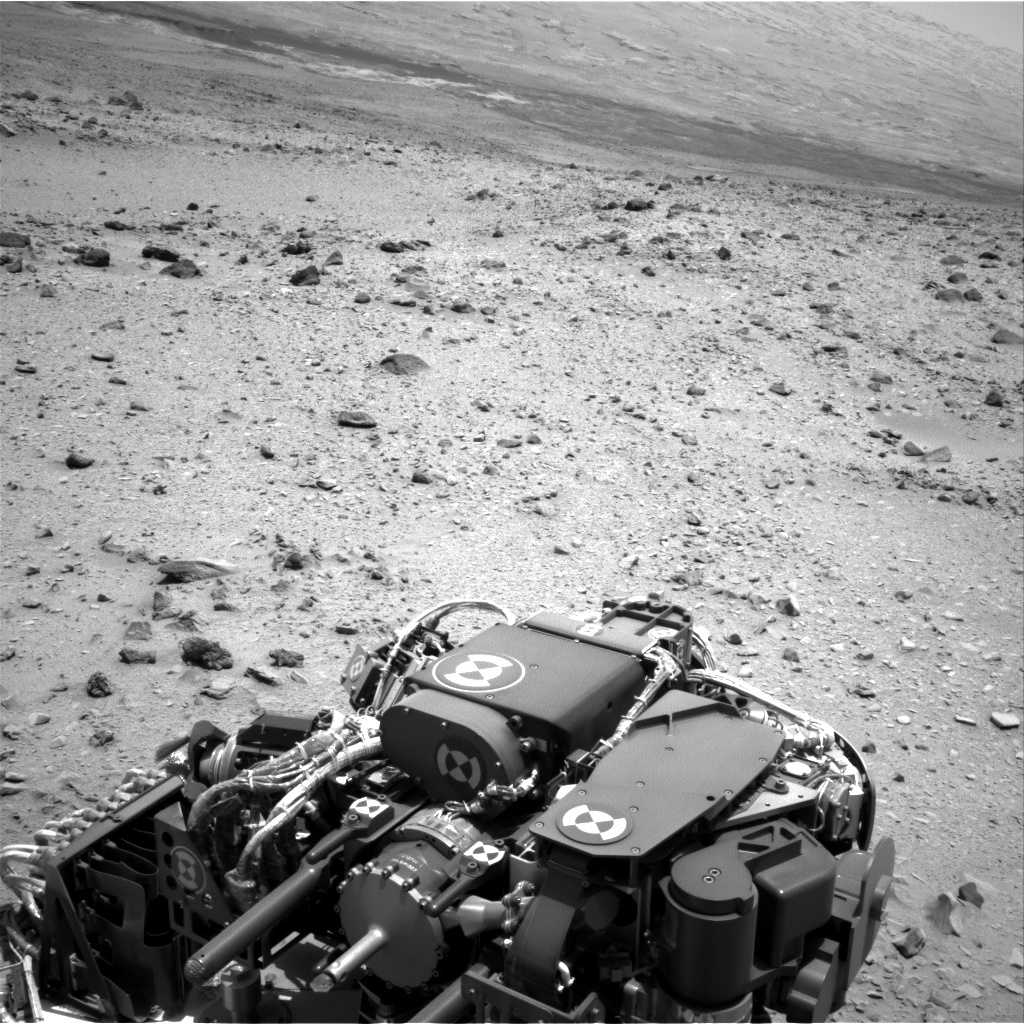 Nasa's Mars rover Curiosity acquired this image using its Right Navigation Camera on Sol 329, at drive 136, site number 7