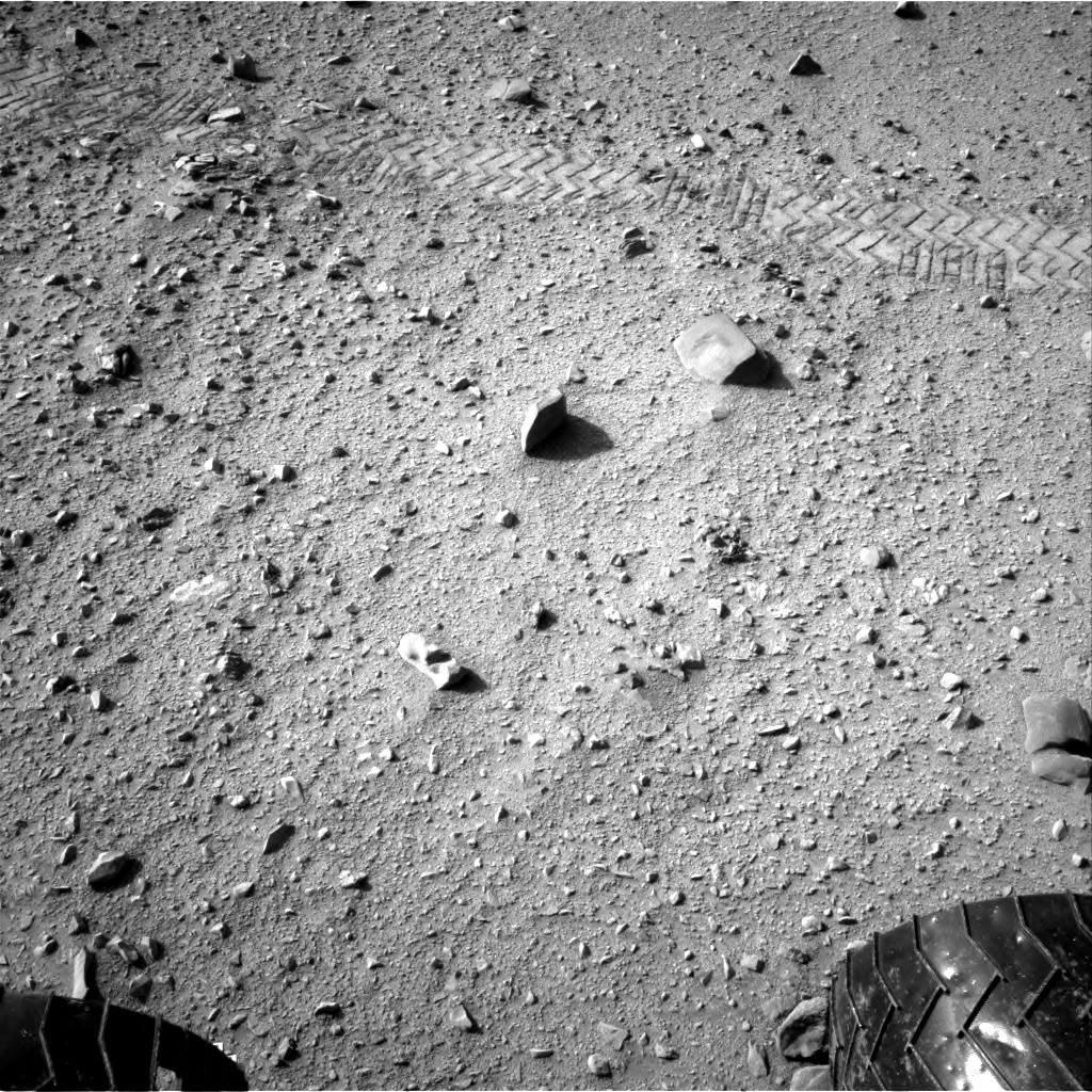 Nasa's Mars rover Curiosity acquired this image using its Right Navigation Camera on Sol 329, at drive 270, site number 7
