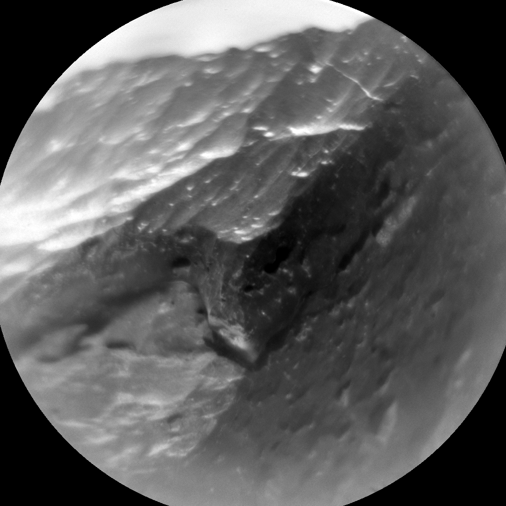 Nasa's Mars rover Curiosity acquired this image using its Chemistry & Camera (ChemCam) on Sol 329, at drive 136, site number 7