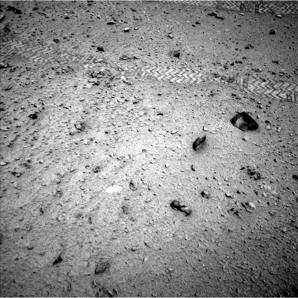 NASA's Mars rover Curiosity acquired this image using its Left Navigation Camera (Navcams) on Sol 330