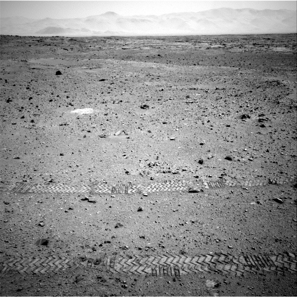 Nasa's Mars rover Curiosity acquired this image using its Right Navigation Camera on Sol 330, at drive 270, site number 7