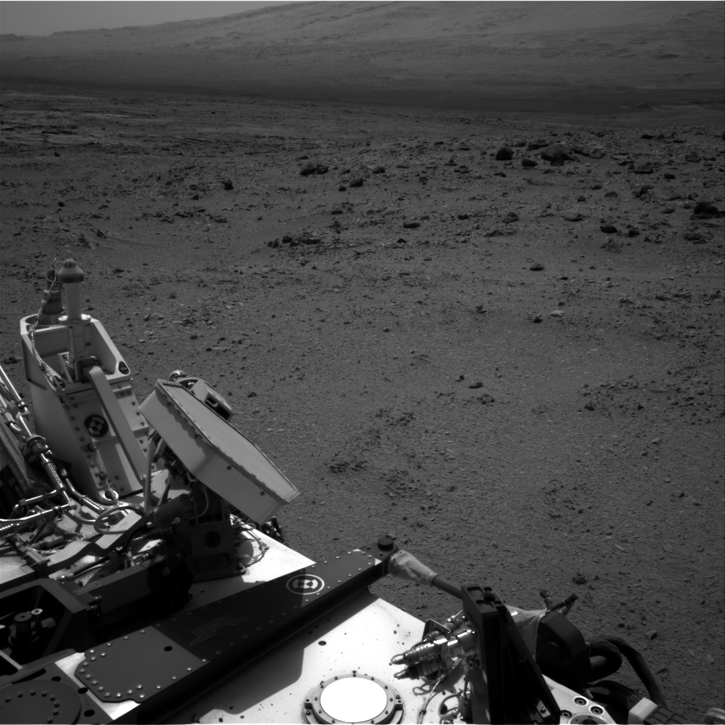 NASA's Mars rover Curiosity acquired this image using its Right Navigation Cameras (Navcams) on Sol 330