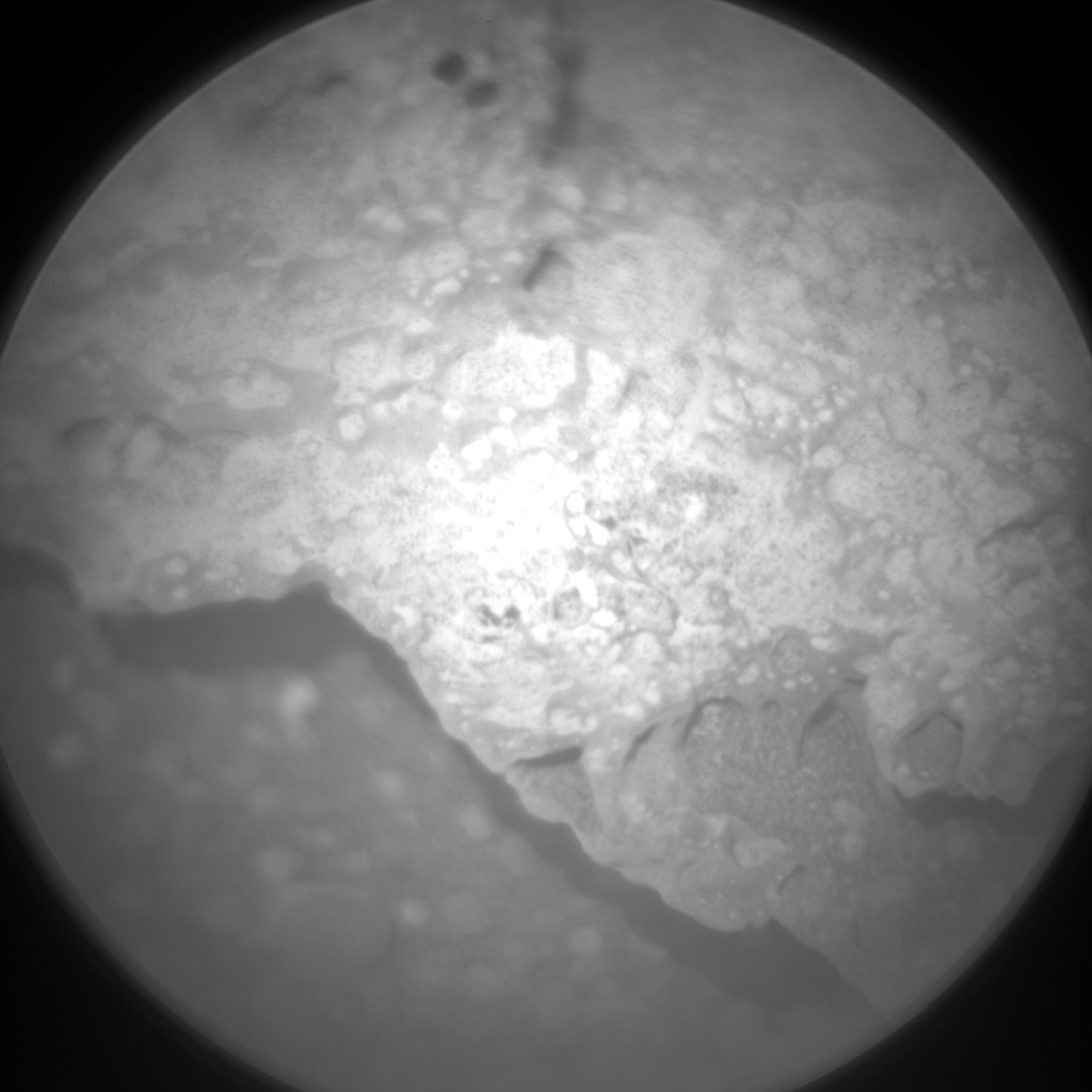 Nasa's Mars rover Curiosity acquired this image using its Chemistry & Camera (ChemCam) on Sol 331, at drive 270, site number 7