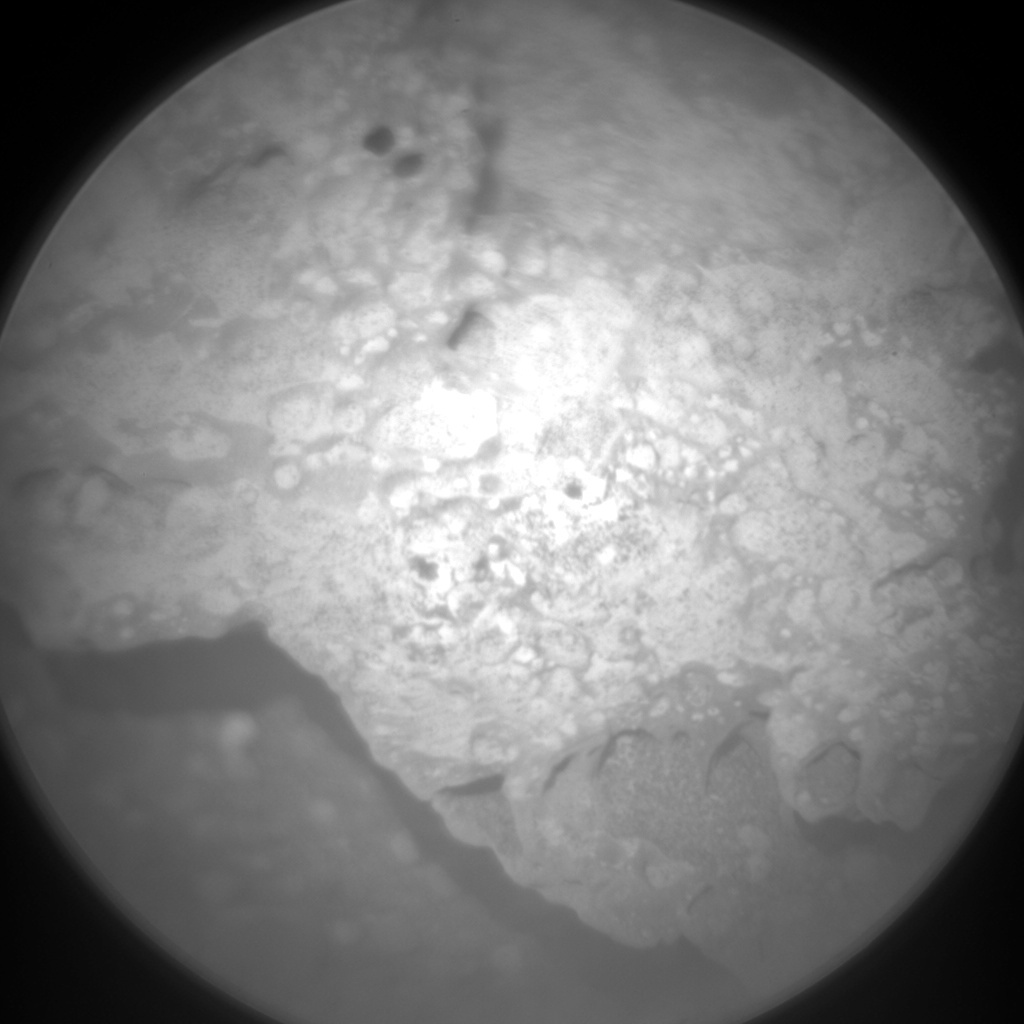 NASA's Mars rover Curiosity acquired this image using its Chemistry & Camera (ChemCam) on Sol 331