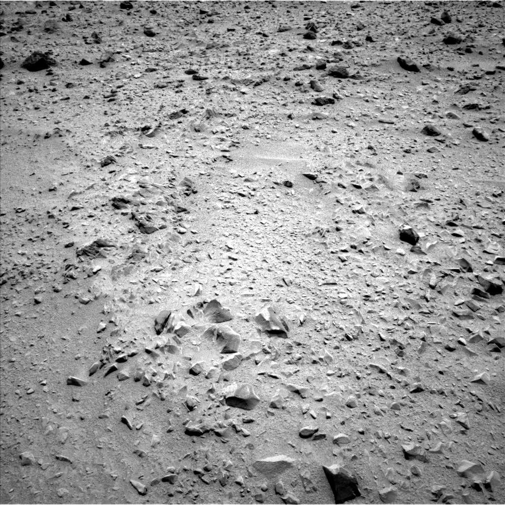 Nasa's Mars rover Curiosity acquired this image using its Left Navigation Camera on Sol 331, at drive 348, site number 7