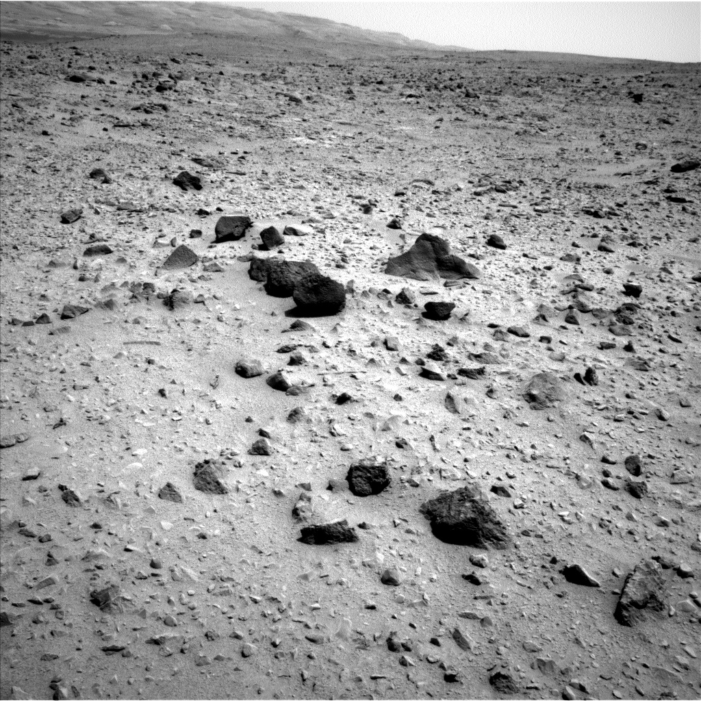 Nasa's Mars rover Curiosity acquired this image using its Left Navigation Camera on Sol 331, at drive 368, site number 7
