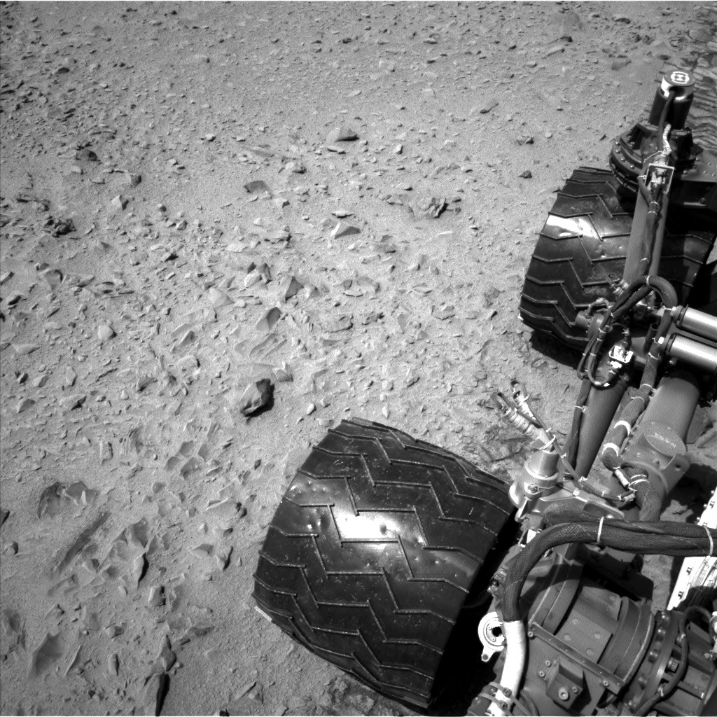 NASA's Mars rover Curiosity acquired this image using its Left Navigation Camera (Navcams) on Sol 331