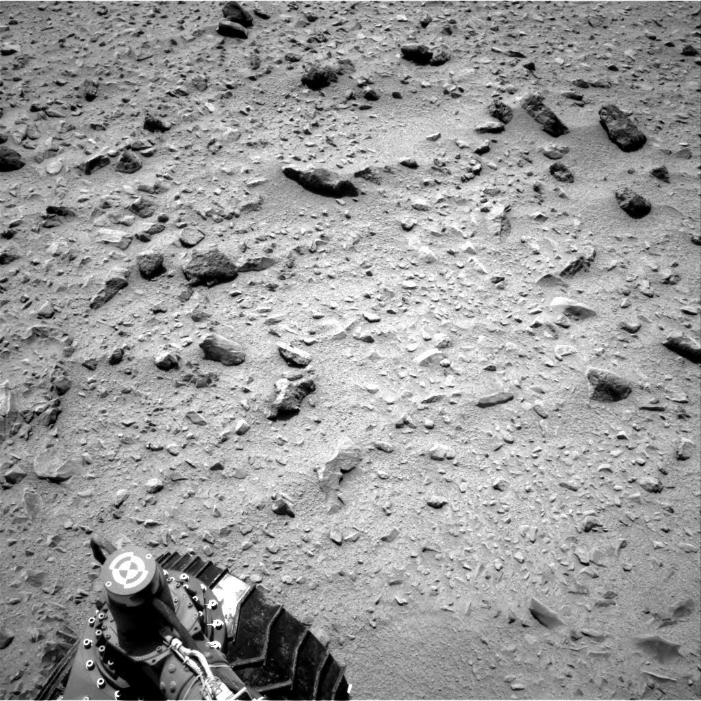 NASA's Mars rover Curiosity acquired this image using its Right Navigation Cameras (Navcams) on Sol 331