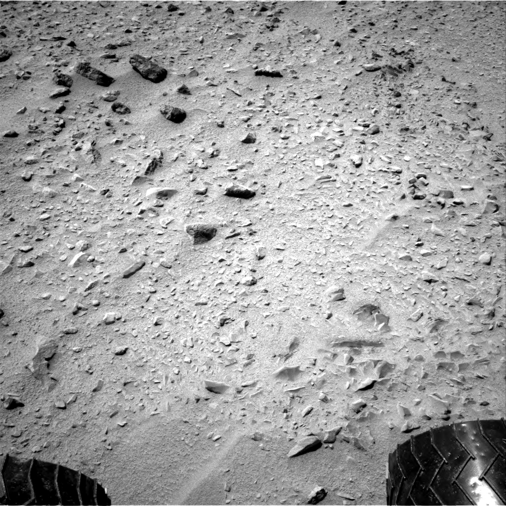Nasa's Mars rover Curiosity acquired this image using its Right Navigation Camera on Sol 331, at drive 368, site number 7