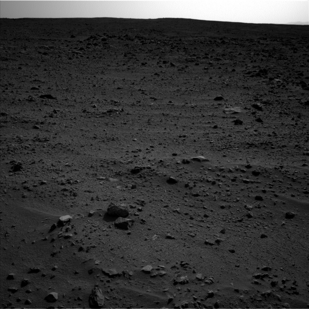 NASA's Mars rover Curiosity acquired this image using its Left Navigation Camera (Navcams) on Sol 333