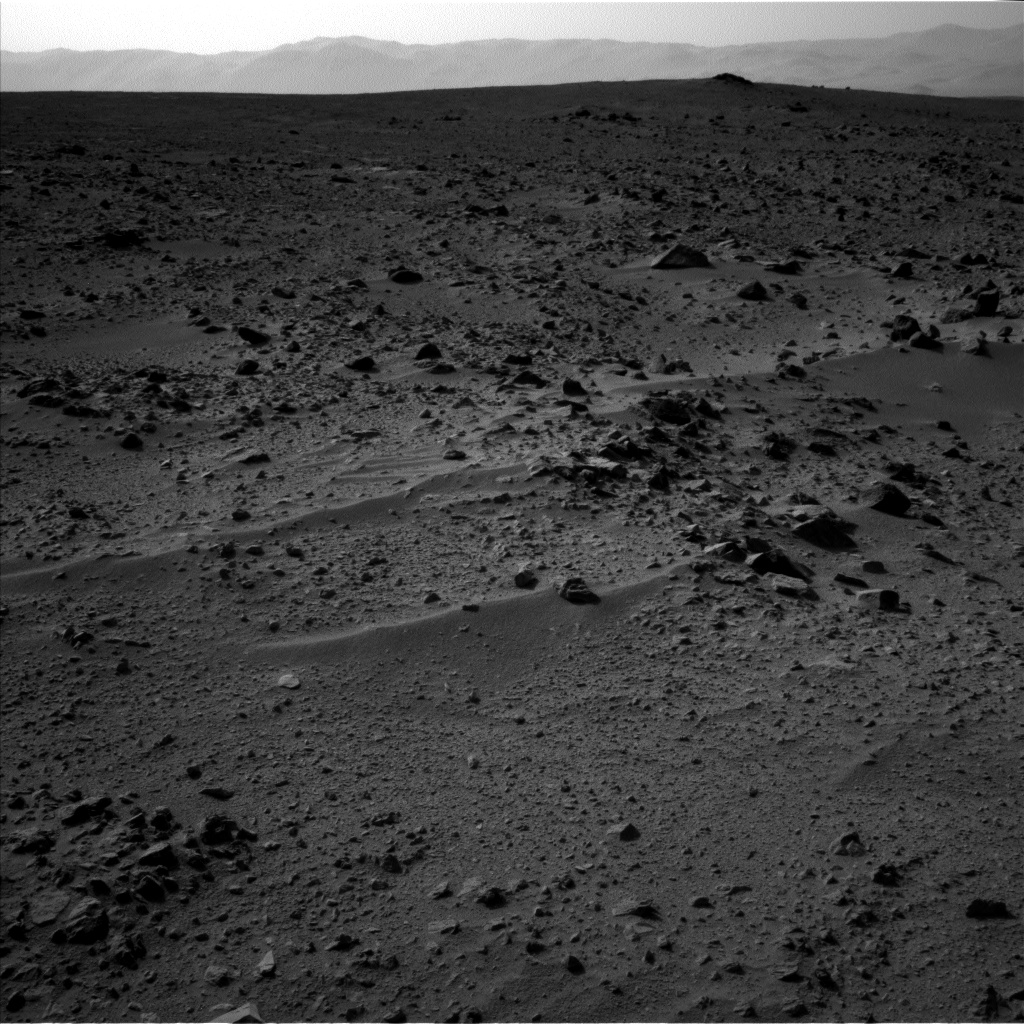 Nasa's Mars rover Curiosity acquired this image using its Left Navigation Camera on Sol 333, at drive 0, site number 8