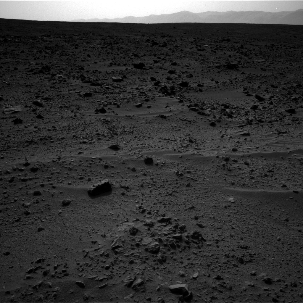 NASA's Mars rover Curiosity acquired this image using its Right Navigation Cameras (Navcams) on Sol 333