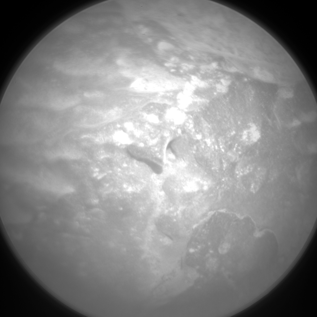 NASA's Mars rover Curiosity acquired this image using its Chemistry & Camera (ChemCam) on Sol 335