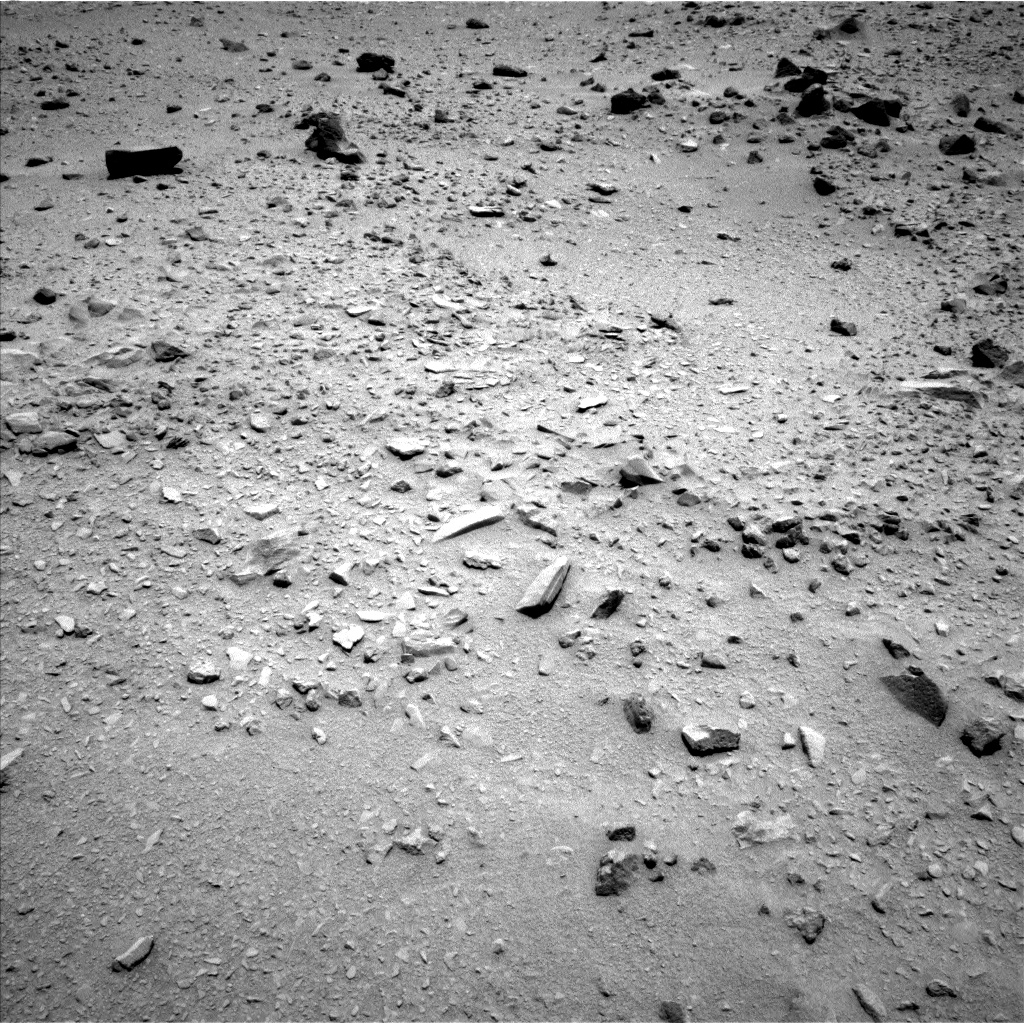 Nasa's Mars rover Curiosity acquired this image using its Left Navigation Camera on Sol 335, at drive 126, site number 8