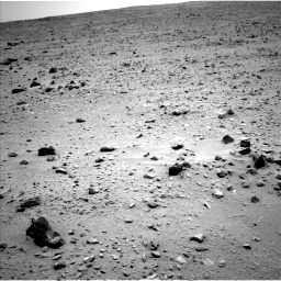 Nasa's Mars rover Curiosity acquired this image using its Left Navigation Camera on Sol 335, at drive 132, site number 8