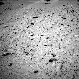 NASA's Mars rover Curiosity acquired this image using its Left Navigation Camera (Navcams) on Sol 335