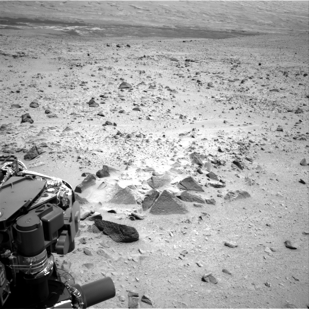 Nasa's Mars rover Curiosity acquired this image using its Right Navigation Camera on Sol 335, at drive 132, site number 8