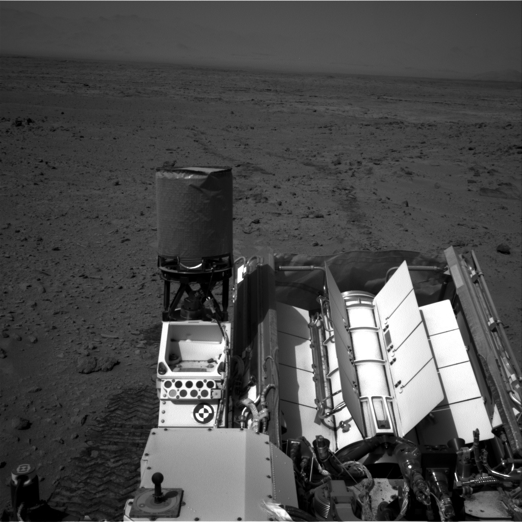 NASA's Mars rover Curiosity acquired this image using its Right Navigation Cameras (Navcams) on Sol 335