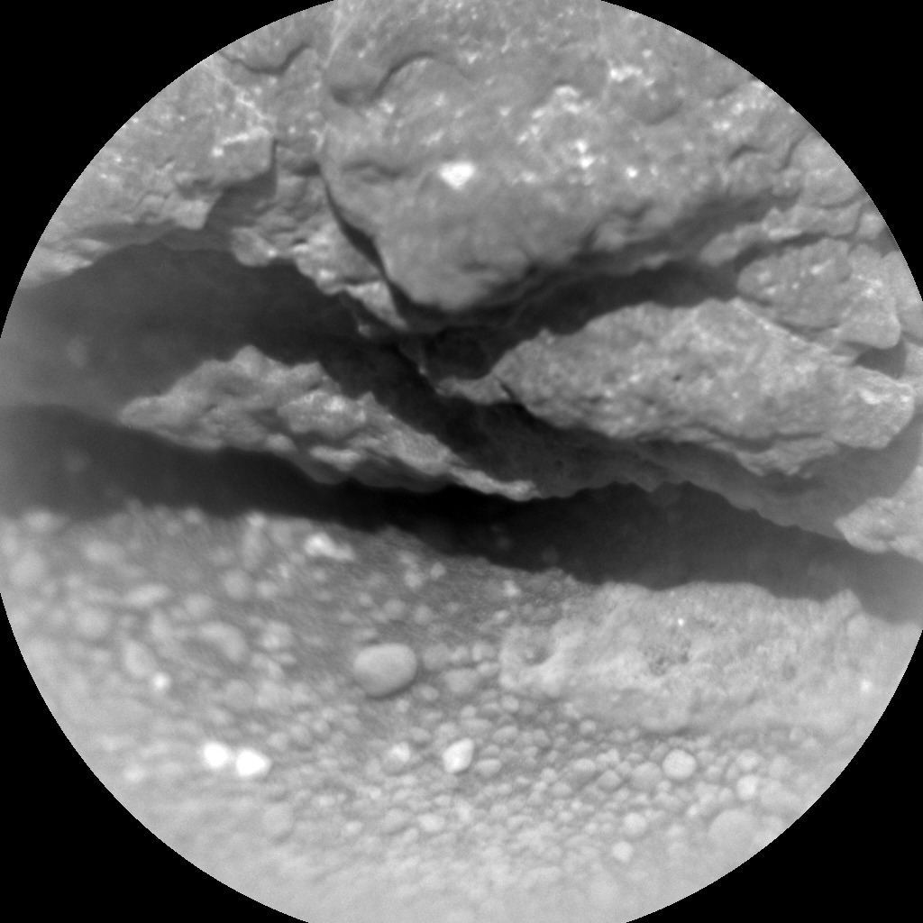Nasa's Mars rover Curiosity acquired this image using its Chemistry & Camera (ChemCam) on Sol 335, at drive 0, site number 8