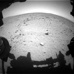 Nasa's Mars rover Curiosity acquired this image using its Front Hazard Avoidance Camera (Front Hazcam) on Sol 336, at drive 228, site number 8