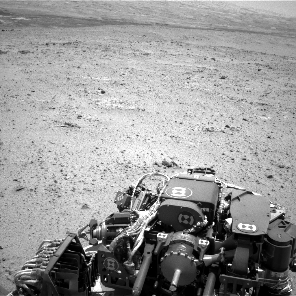 NASA's Mars rover Curiosity acquired this image using its Left Navigation Camera (Navcams) on Sol 336