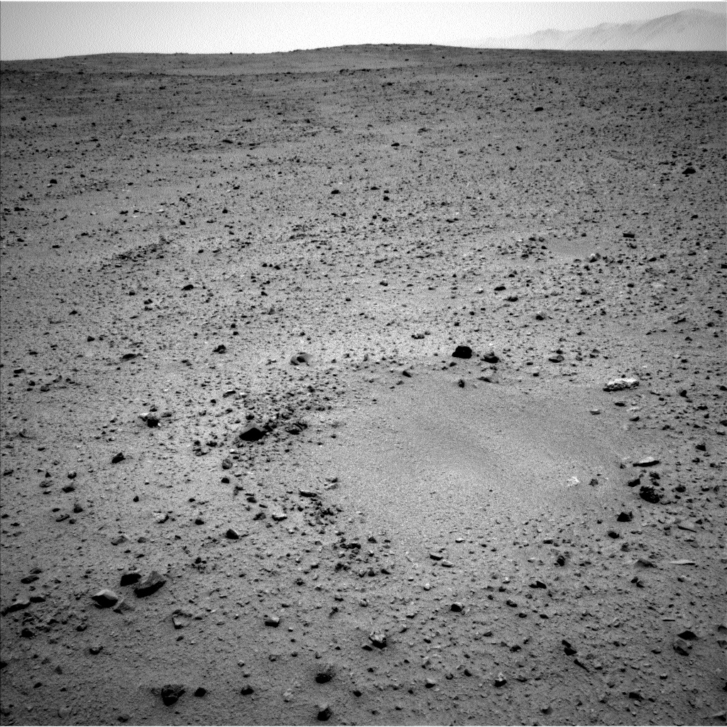 Nasa's Mars rover Curiosity acquired this image using its Left Navigation Camera on Sol 336, at drive 234, site number 8