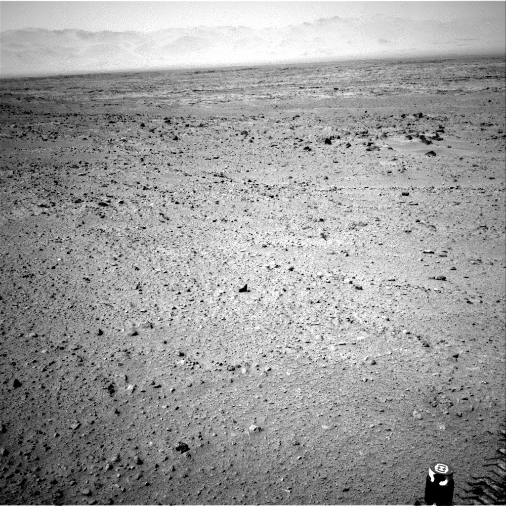 Nasa's Mars rover Curiosity acquired this image using its Right Navigation Camera on Sol 336, at drive 234, site number 8