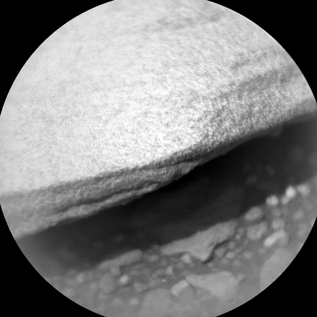 Nasa's Mars rover Curiosity acquired this image using its Chemistry & Camera (ChemCam) on Sol 336, at drive 132, site number 8