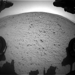 Nasa's Mars rover Curiosity acquired this image using its Front Hazard Avoidance Camera (Front Hazcam) on Sol 337, at drive 494, site number 8