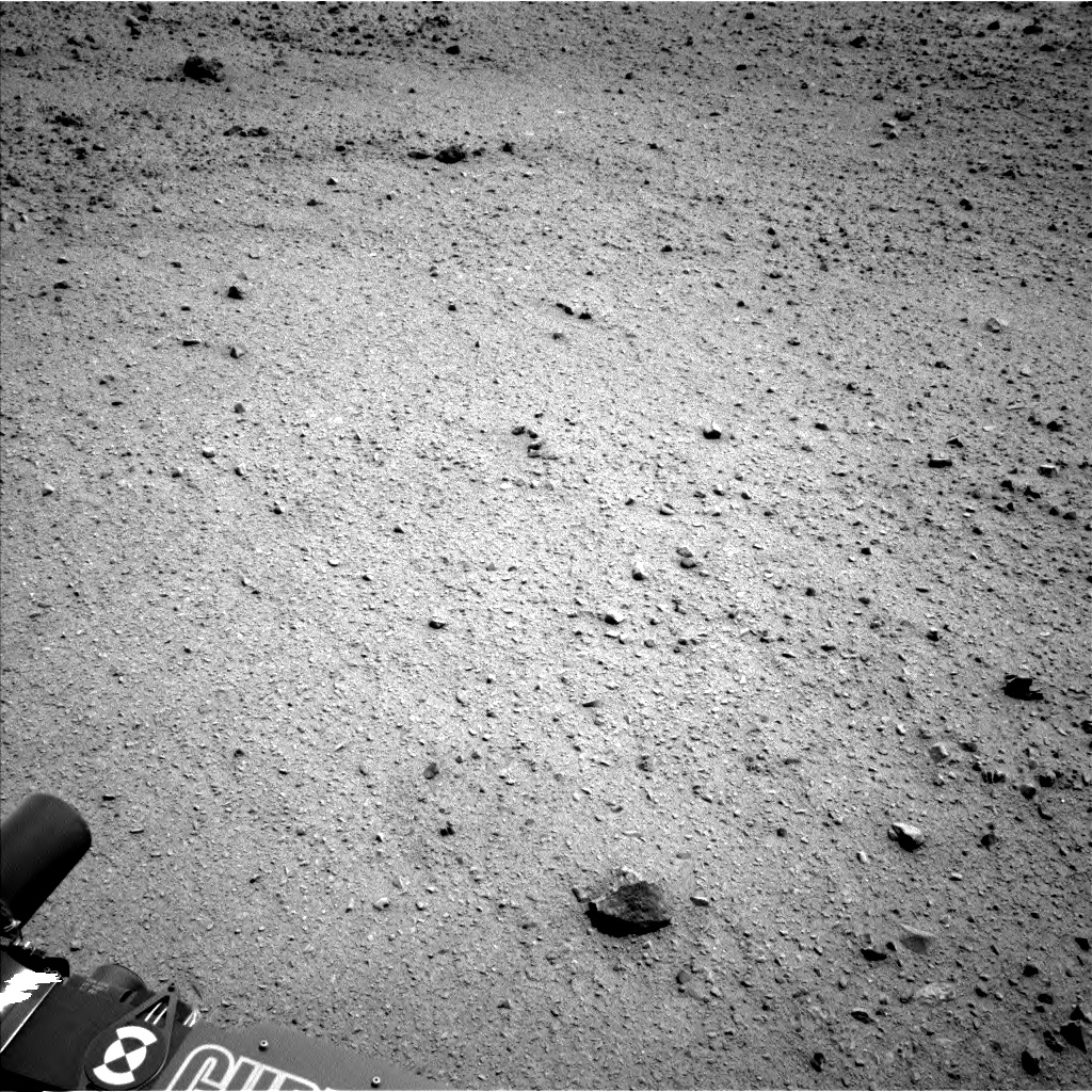 Nasa's Mars rover Curiosity acquired this image using its Left Navigation Camera on Sol 337, at drive 456, site number 8