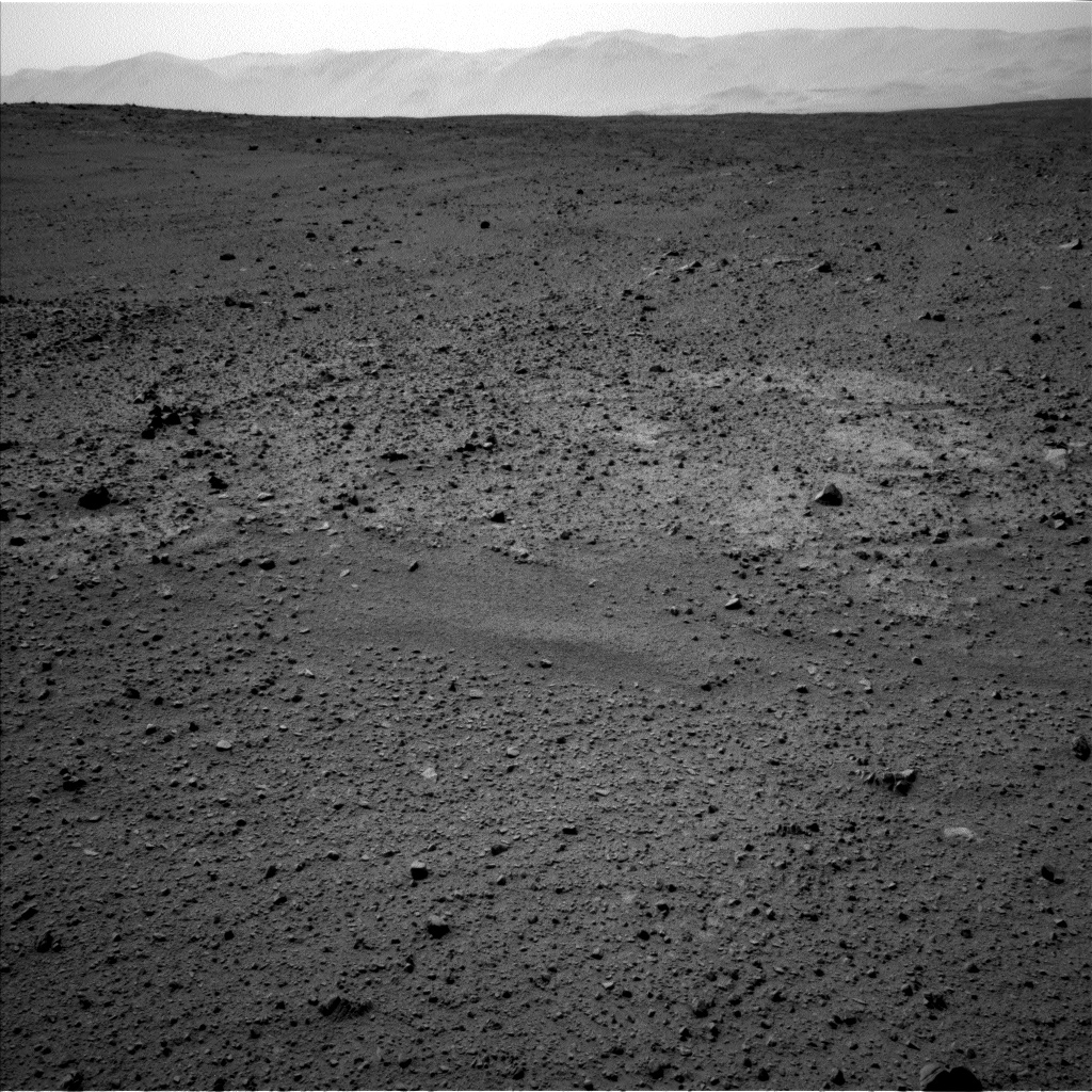 Nasa's Mars rover Curiosity acquired this image using its Left Navigation Camera on Sol 337, at drive 494, site number 8