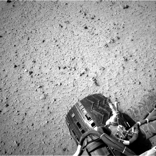 Nasa's Mars rover Curiosity acquired this image using its Right Navigation Camera on Sol 337, at drive 494, site number 8