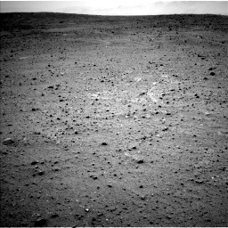 NASA's Mars rover Curiosity acquired this image using its Left Navigation Camera (Navcams) on Sol 338