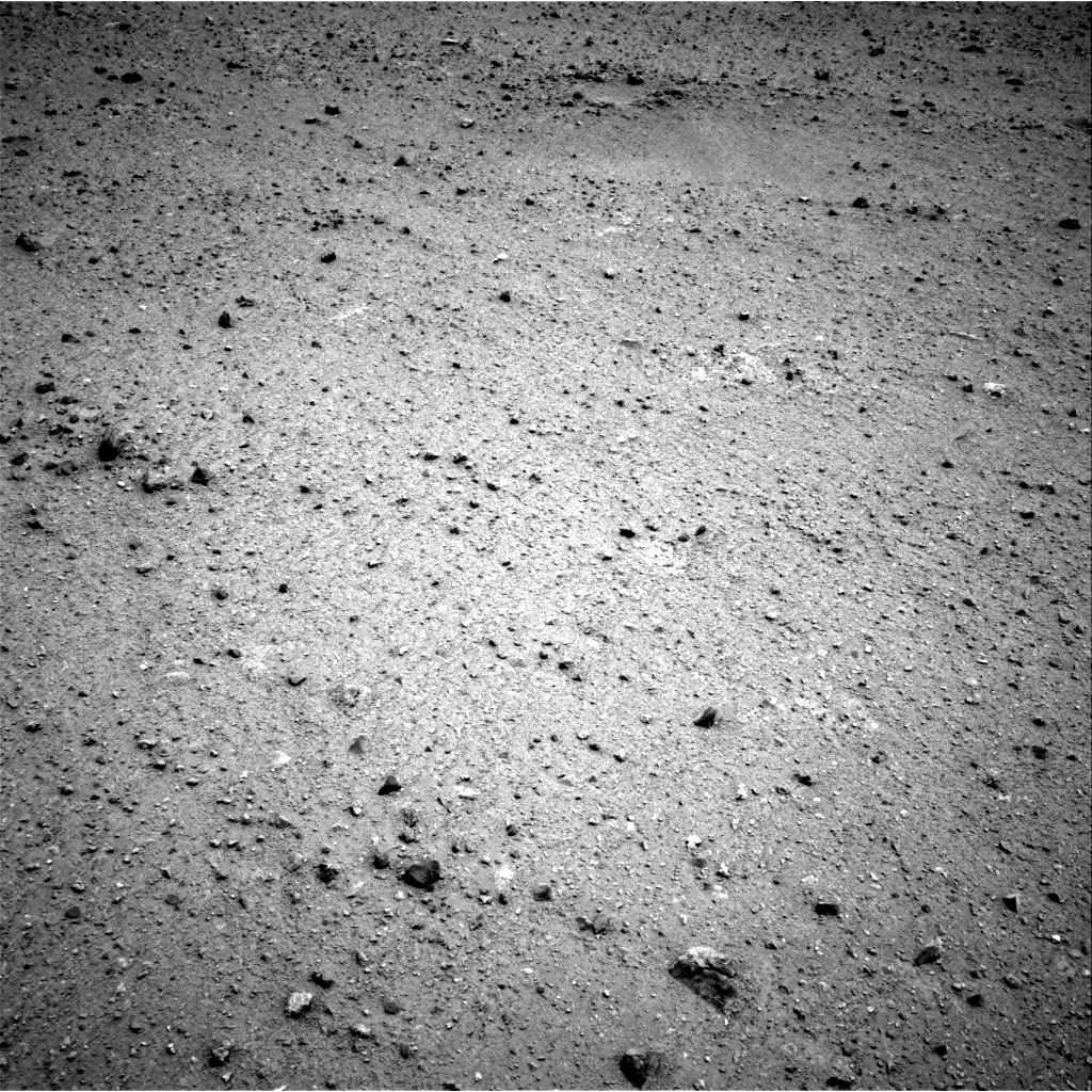 NASA's Mars rover Curiosity acquired this image using its Right Navigation Cameras (Navcams) on Sol 338