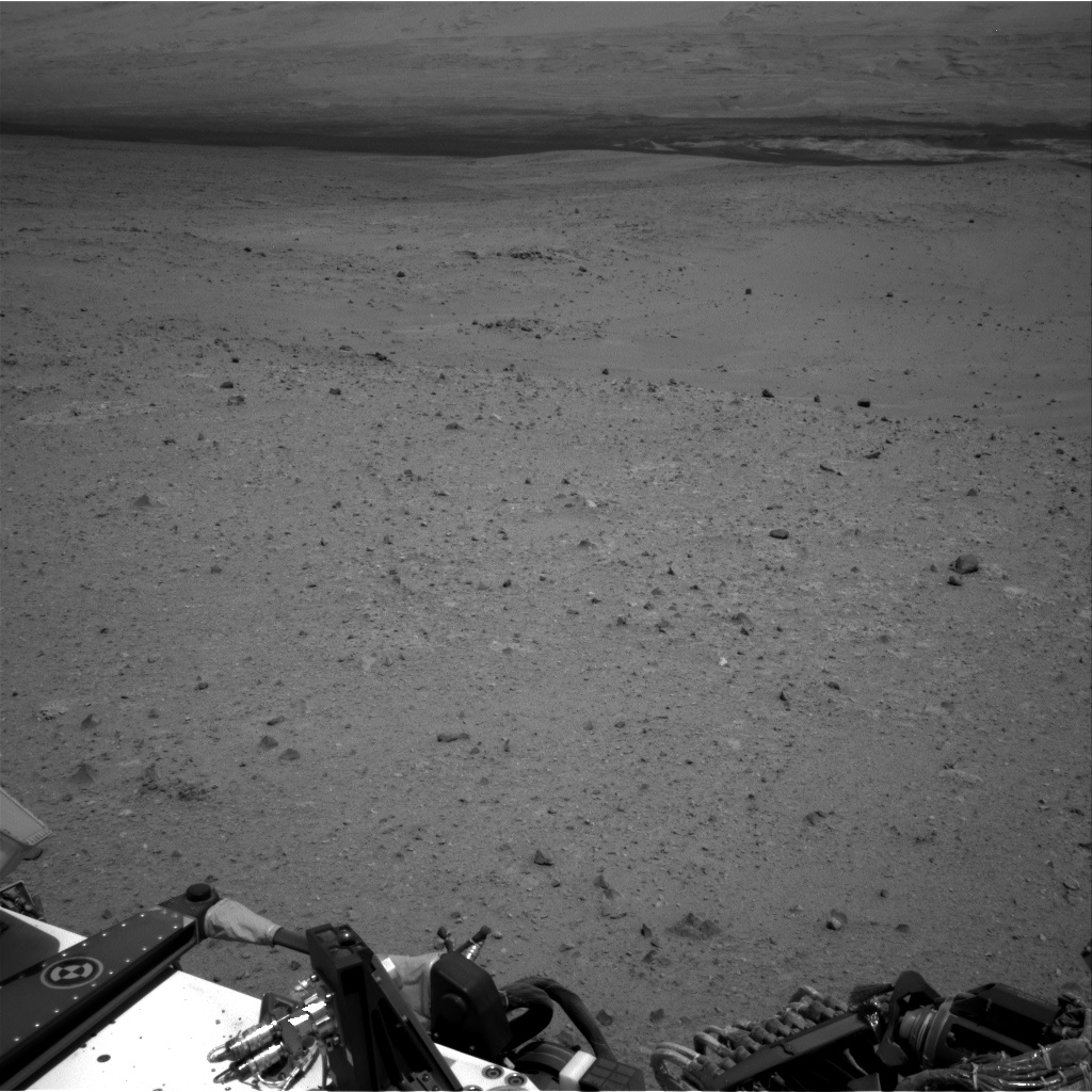 Nasa's Mars rover Curiosity acquired this image using its Right Navigation Camera on Sol 338, at drive 610, site number 8