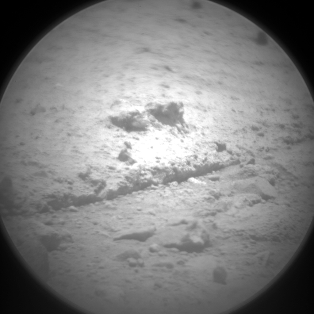 NASA's Mars rover Curiosity acquired this image using its Chemistry & Camera (ChemCam) on Sol 339