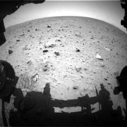 Nasa's Mars rover Curiosity acquired this image using its Front Hazard Avoidance Camera (Front Hazcam) on Sol 340, at drive 1148, site number 8