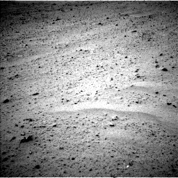Nasa's Mars rover Curiosity acquired this image using its Left Navigation Camera on Sol 340, at drive 712, site number 8