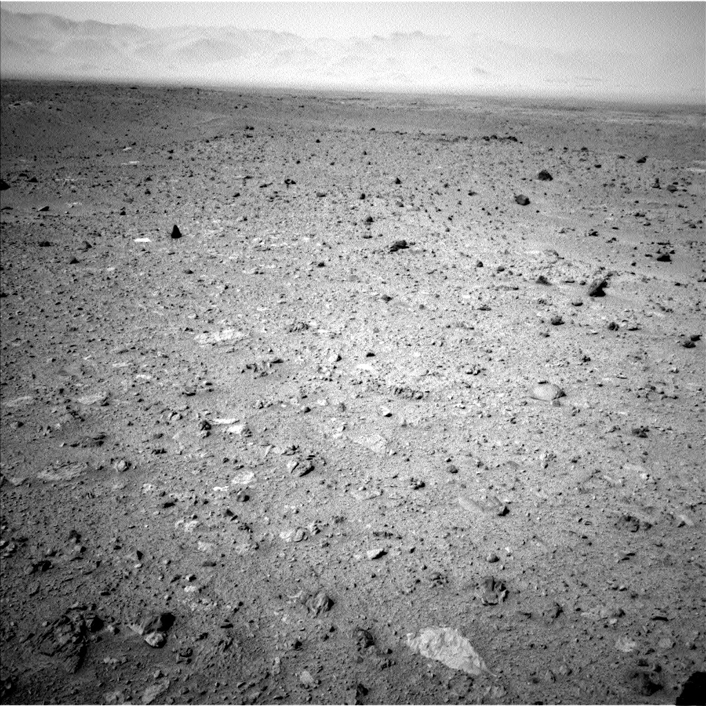 NASA's Mars rover Curiosity acquired this image using its Left Navigation Camera (Navcams) on Sol 340