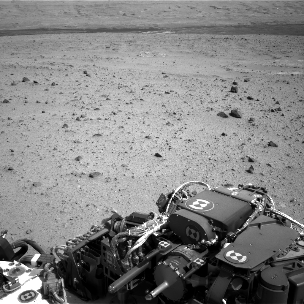 Nasa's Mars rover Curiosity acquired this image using its Right Navigation Camera on Sol 340, at drive 0, site number 9