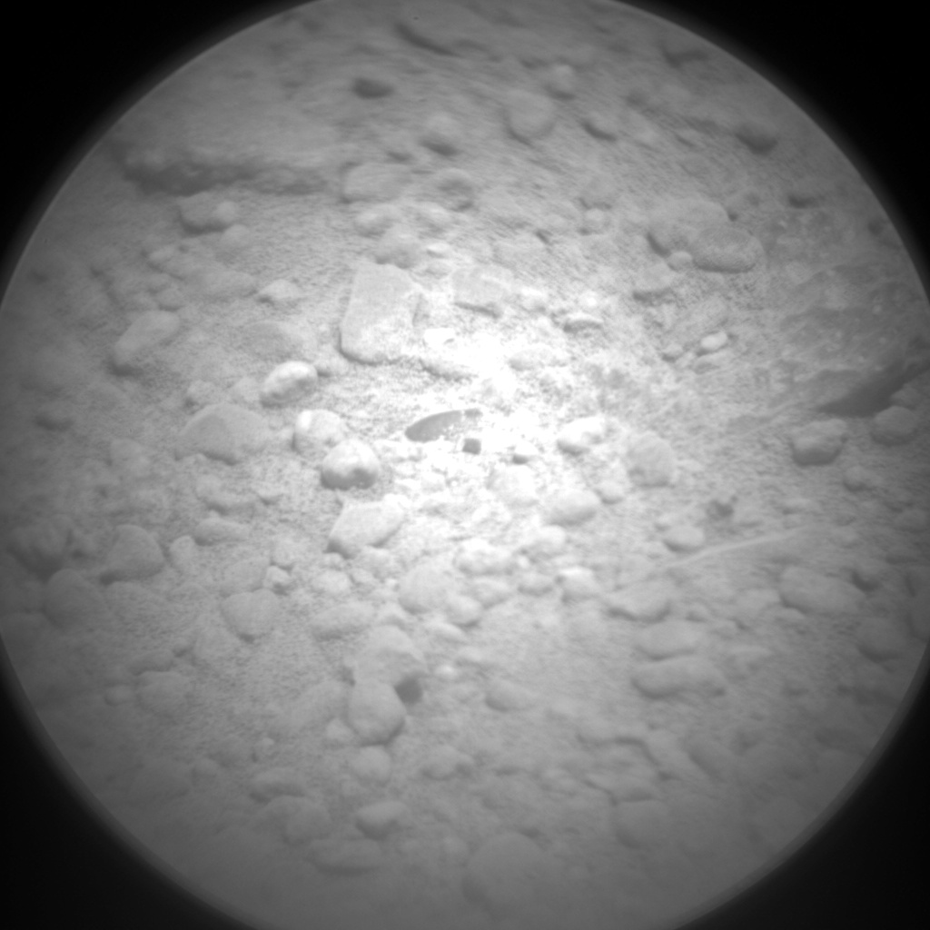 Nasa's Mars rover Curiosity acquired this image using its Chemistry & Camera (ChemCam) on Sol 341, at drive 0, site number 9