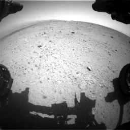Nasa's Mars rover Curiosity acquired this image using its Front Hazard Avoidance Camera (Front Hazcam) on Sol 342, at drive 228, site number 9