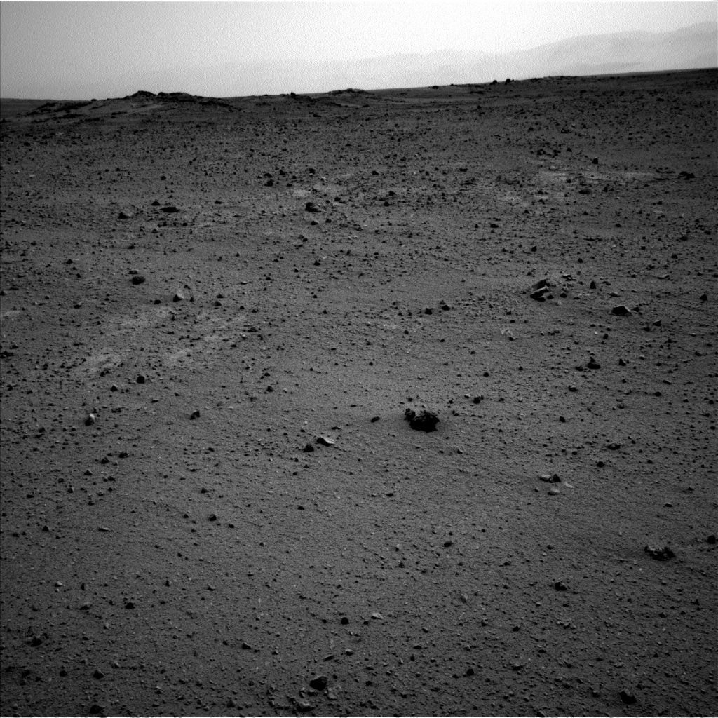 Nasa's Mars rover Curiosity acquired this image using its Left Navigation Camera on Sol 342, at drive 236, site number 9