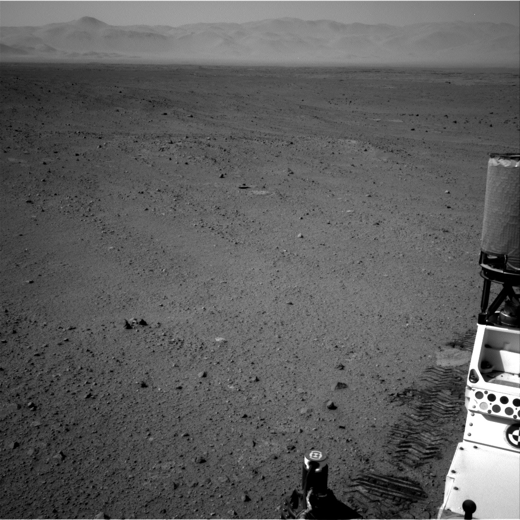 Nasa's Mars rover Curiosity acquired this image using its Right Navigation Camera on Sol 342, at drive 236, site number 9