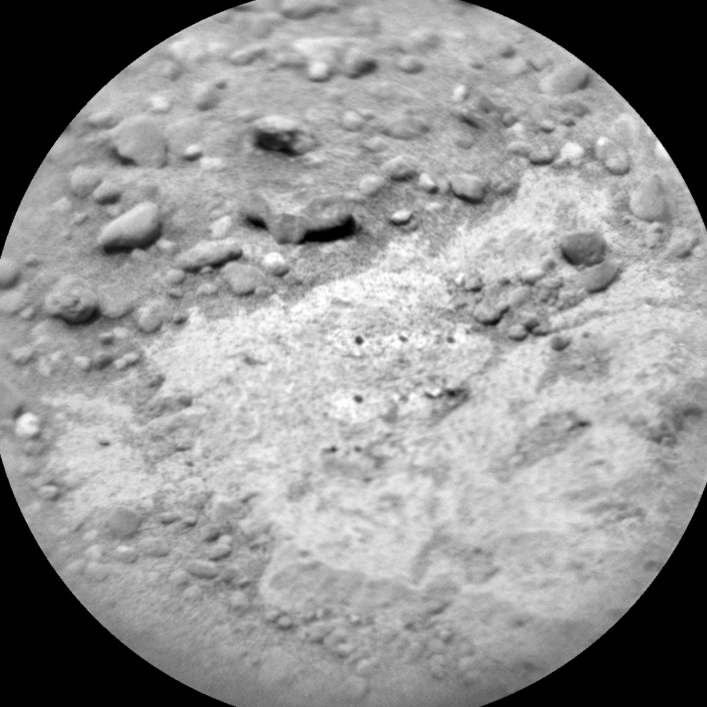 NASA's Mars rover Curiosity acquired this image using its Chemistry & Camera (ChemCam) on Sol 342