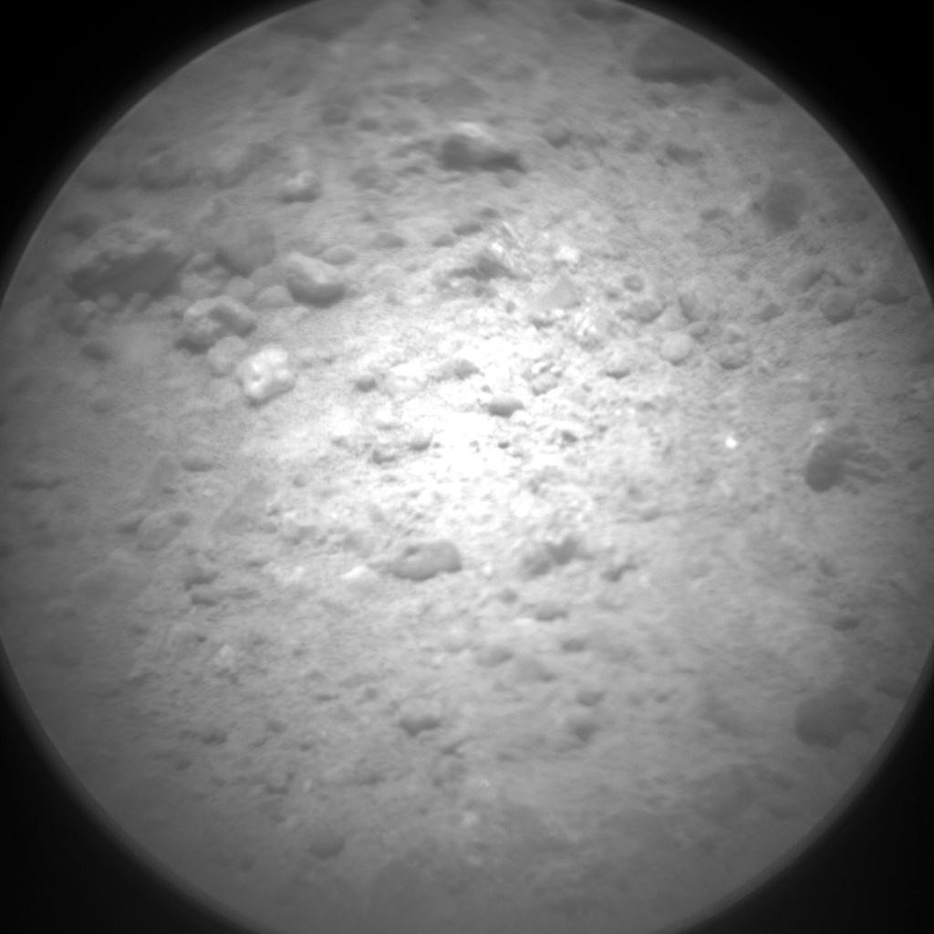 NASA's Mars rover Curiosity acquired this image using its Chemistry & Camera (ChemCam) on Sol 343