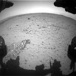 Nasa's Mars rover Curiosity acquired this image using its Front Hazard Avoidance Camera (Front Hazcam) on Sol 343, at drive 362, site number 9