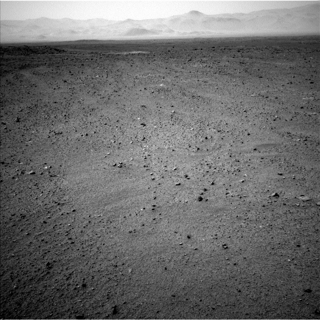 NASA's Mars rover Curiosity acquired this image using its Left Navigation Camera (Navcams) on Sol 343