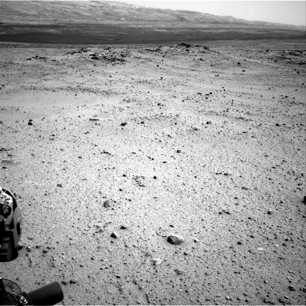 Nasa's Mars rover Curiosity acquired this image using its Right Navigation Camera on Sol 343, at drive 366, site number 9
